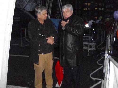 Peter Grottian mit dem DGB - Chef im Gespräch