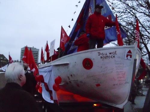 Das Gewerkschaftsboot