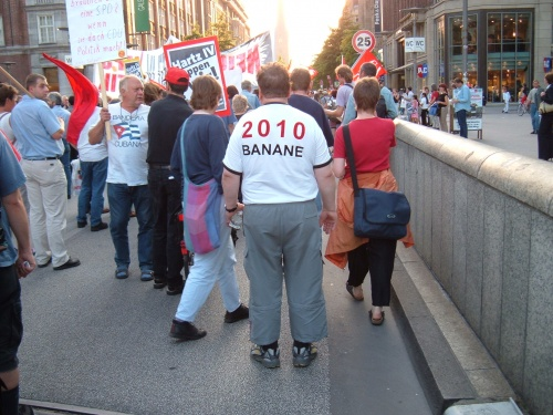 Montagsdemo 2004 in Hamburg
